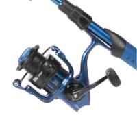 Abu Garcia Revo X Combo L Spin | Blue | 7ft | 5-15g | Canne Spinning | Ensemble