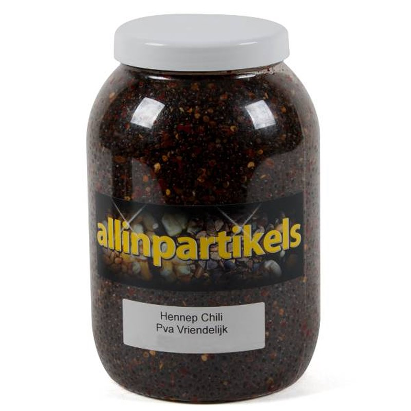 All-In Partikels Chili Hennep in Pot | 2kg