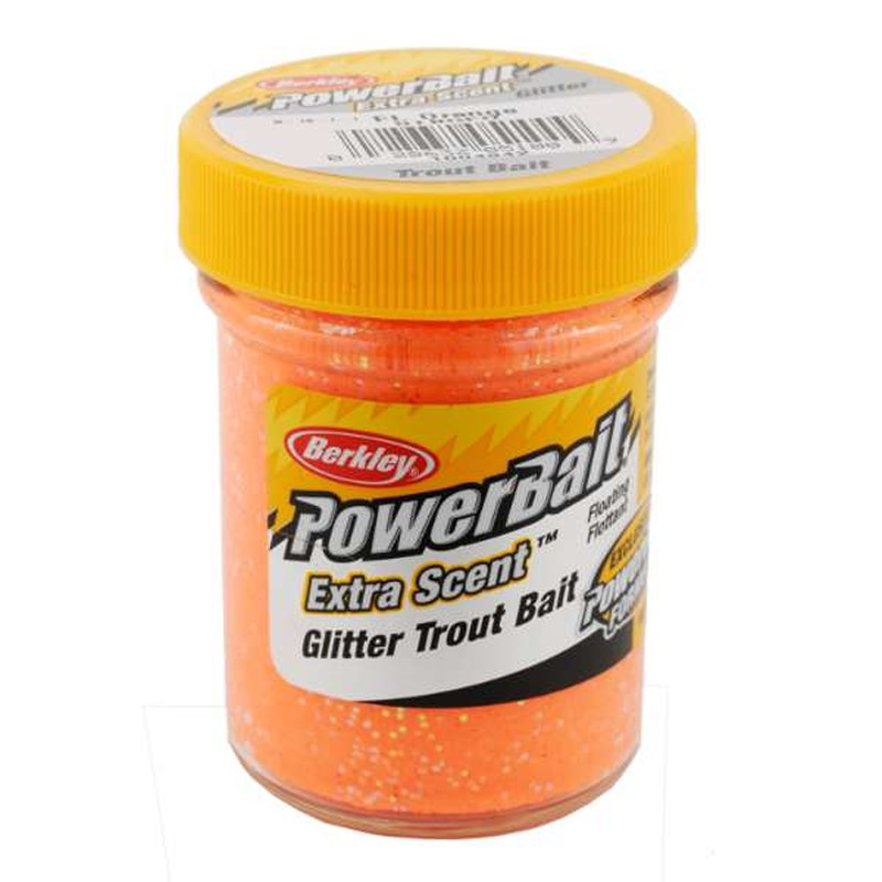 Berkley Troutbait Select Glitter | Fluo Oranje