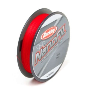 Berkley Plecionka NanoFil 0.28 125m Red 0.2801mm 20.126kg