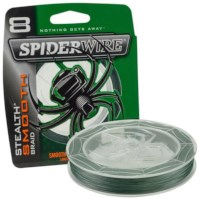 Spiderwire Stealth Smooth 8   Moss Green   Dyn.   80lb   0.40mm   240m