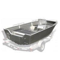 Kimple Adventure 440W | With Middle Bench Storage | Aluminium Boot