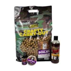 Crafty Catcher Carry Out Big Hit | Boilies | Chocolate & Vanilla Nut | 15mm | 5Kg