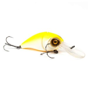 DLT Fat Boy Jointed | Jaune-Blanc | 6cm | Poisson Nageur