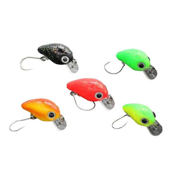 Troutlook Trout Crank | Ensemble | 2.5cm | 1.6g | 5 Pcs | Poisson Nageur