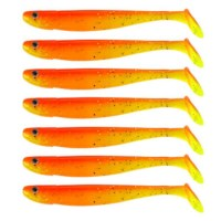 Eurocatch Fishing Jig n Swim Shad | UV Fruitgame | 9.5cm | 7 Stuks