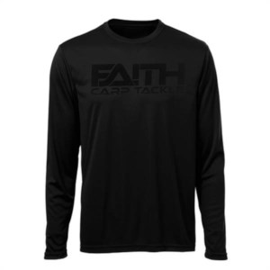 Faith Long Sleeve Shirt | Noir | Taille XXL | Tee-Shirt