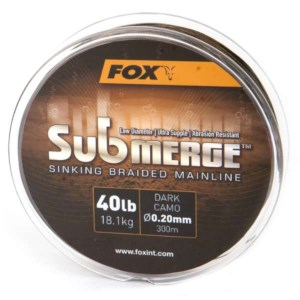 Fox Plecionka Submerge S Braided Mainline D Camo 40Lb 0.20mm 600m
