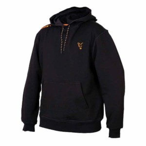 Fox Collection Orange | Black Hoodie | Taille L | Sweat