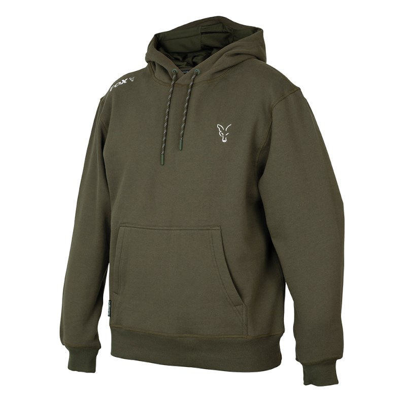Fox Collection Green | Silver Hoodie | Taille XL | Sweat