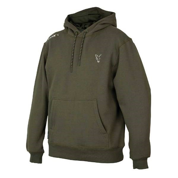 Fox Collection Green/Silver   Hoodie   Maat XXL