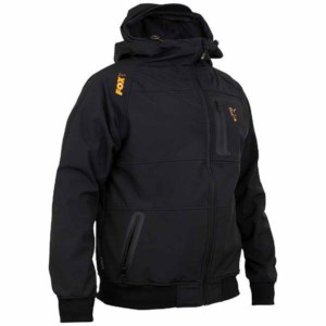Fox Collection Black/Orange | Shell Hoodie | Maat L