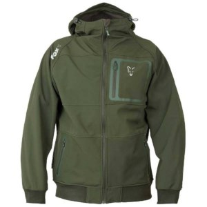 Fox Collection Green | Silver Shell Hoodie | Taille XXL | Sweat