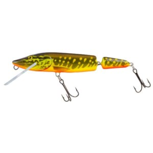 Salmo Pike Jointed Floater Hot Pike | 13cm | Poisson Nageur