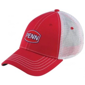 Penn Hat Red 2 | Logo Cap | Rood | Pet