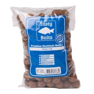Tasty Baits Hookbait Boilies | Killer Krill | 20mm | 1kg
