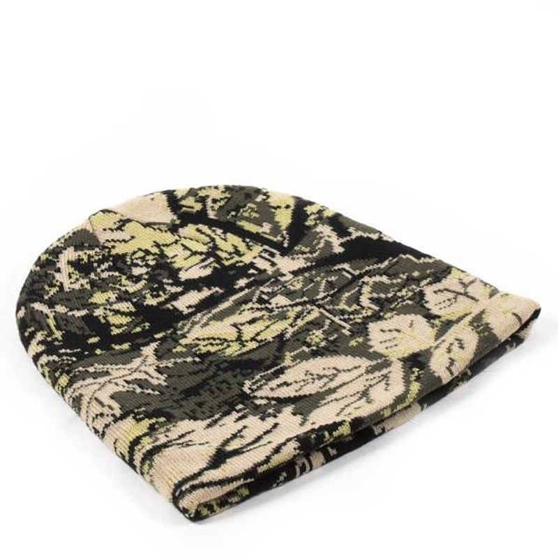 Eurocatch Outdoor Beanie   Yellow Fluo Camouflage   Muts