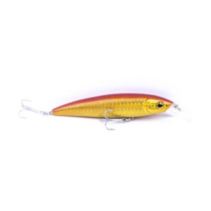 Viper Minnow LC | Or Shiner | 12cm | Poisson Nageur