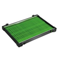 Rive Anodised Tray 30 | Green | 19cm | 32st