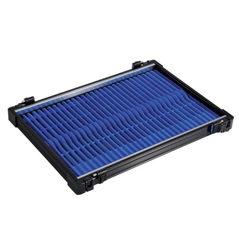 Rive Anodised Tray 30 | Blue | 26cm | 30st