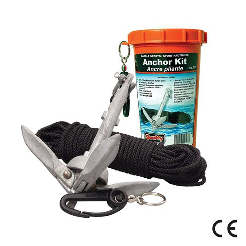 Scotty Anchor Pack w/ 1.5 lb anchor line in watertight jar