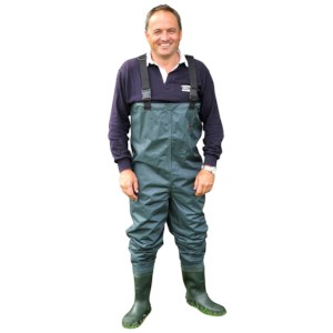 Shakespeare Sigma Nylon Chest Wader | Waadpak | Maat 45