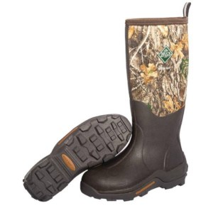 Muck Boot Woody Max | Orange Lining | Brun/Camo | Taille 47 | Botte