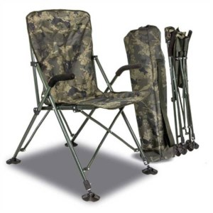 Solar Undercover Camouflage Foldable Easy Chair High | Opvouwbare Stoel