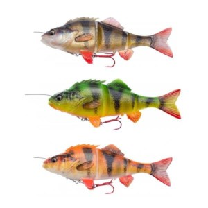 Savage Gear 4D Line Thru Perch | 17cm | 63g | Perch, Firetiger, Albina | 3 Stuks